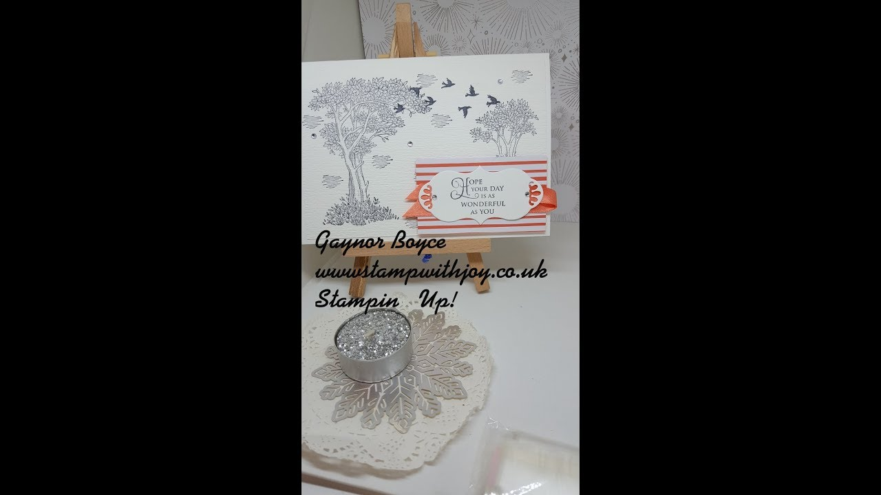 Golden Afternoon Card Stampin Up