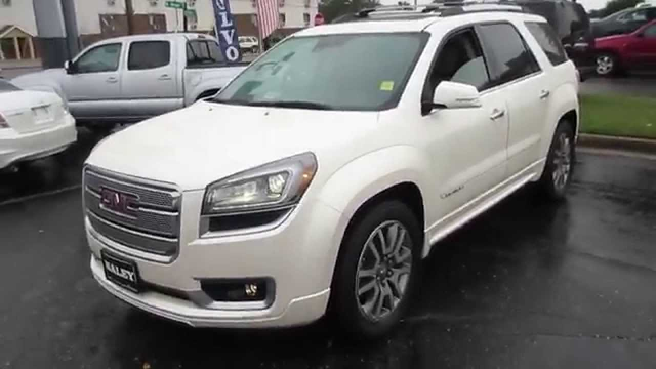 2014 GMC Acadia Denali AWD Walkaround, Start up, Tour and ...