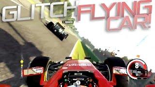 F1 2015 Codemasters GLITCH! FLYING CAR | AMD HD 7770 ULTRA [HD]