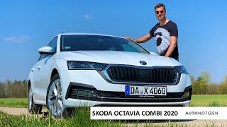 2020 Skoda Octavia Combi First Edition 2.0 TDI (150 PS): Review, Test, Fahrbericht