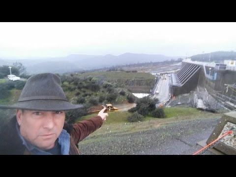 Oroville Dam Tues 21 Feb 2017 Update