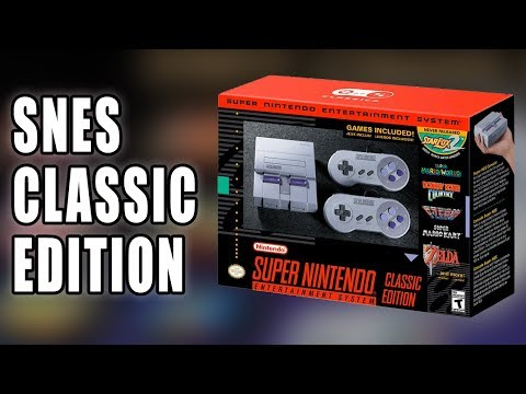 SNES Classic Edition (aka Super NES mini) Announced by Nintendo - Talk About Games