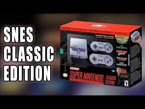 SNES Classic Edition aka Super NES mini Announced by Nintendo  Talk About Games