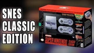 SNES Classic Edition (aka Super NES mini) Announced by Nintendo - Talk About Games