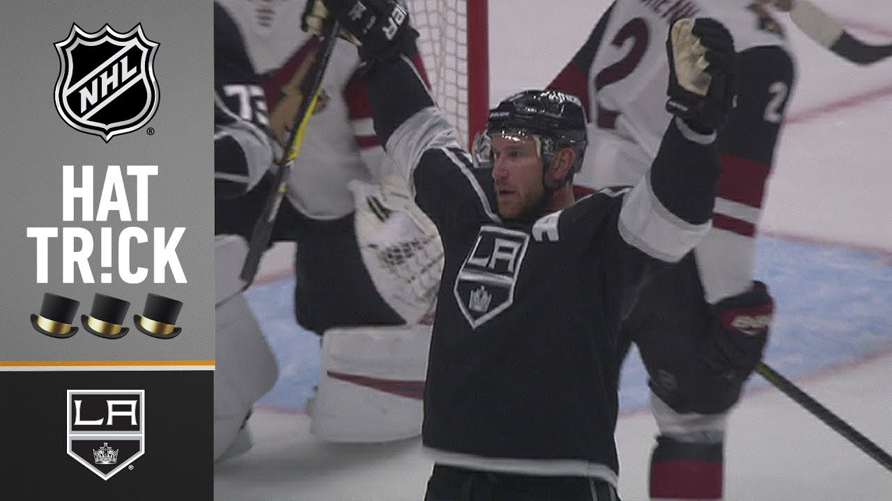 1a249fc31b2 Jeff Carter earns sixth career hat trick in 900th NHL game - YouTube