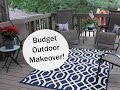 BUDGET OUTDOOR MAKEOVER!  | 4th of July Inspired