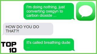 Top 10 Dumbest Text Messages - Part 20