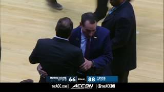 Notre Dame vs Duke College Basketball Condensed Game 2018