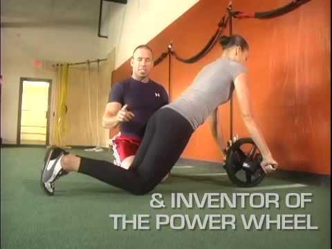 Lifeline Power Wheel for Ultimate Core Training funktioniert gleichzeitig bis zu Muskeln in Ihrem ganzen K/örper YDHWT Bauchmuskeln Wheel