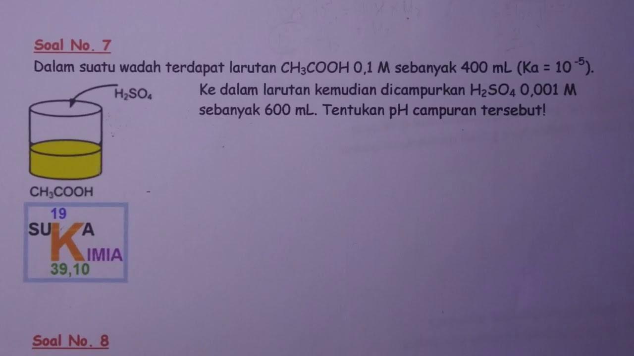 25++ Contoh Soal Menghitung Ph Campuran Asam Lemah Dan ...