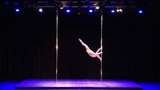 2018 US Pole Dance Championship Novice Level 2 Artistic Division - Ting