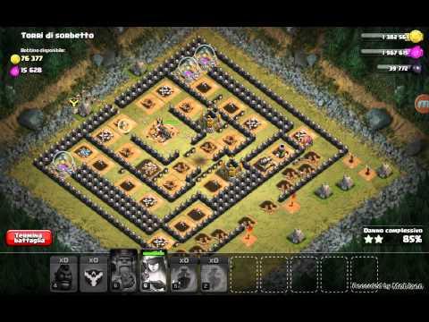 Clash Of Clans #20 - Attacco Con 44 Domatori Lvl 4
