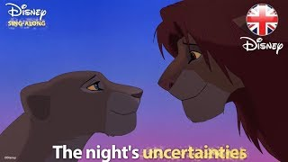 DISNEY SING-ALONGS | Can You Feel The Love Tonight? The Lion King Lyric Video | Official Disney UK