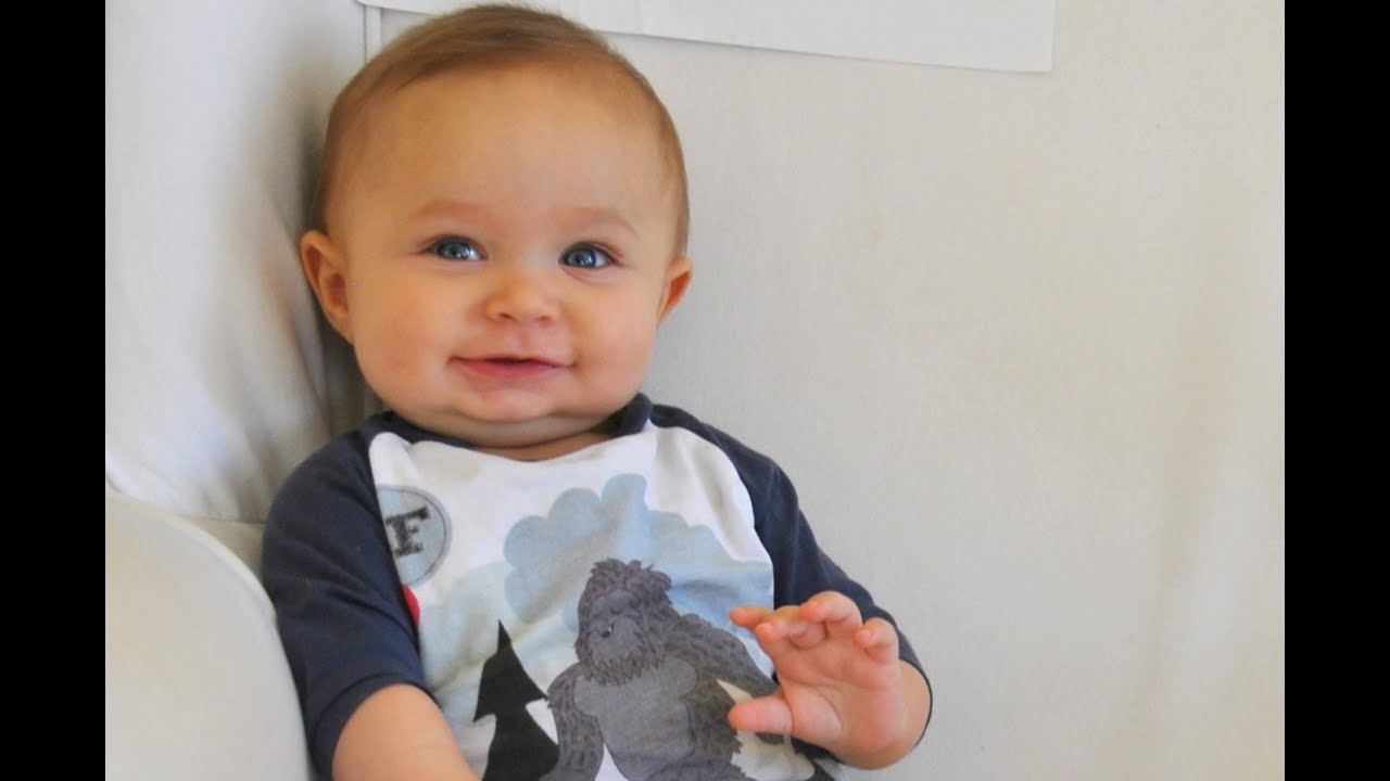 d1ff201e1da our baby boy turns 7 months old! he s so freakin  cute! - YouTube