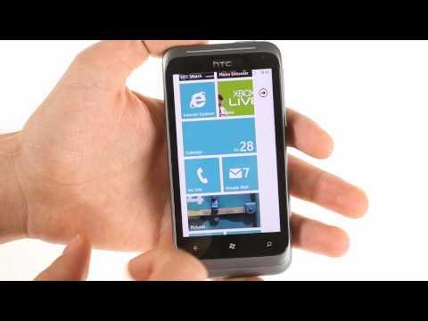 HTC Radar UI demo