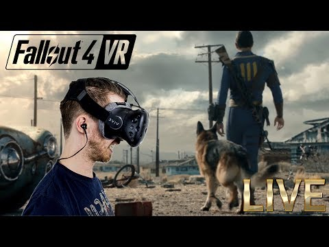 LET'S HEAD INTO THE WASTELAND! | Fallout 4 VR - HTC Vive Gameplay