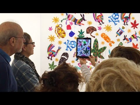 New York City - Augmented reality art show