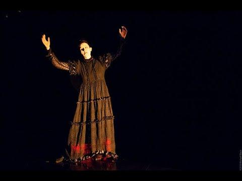 Butoh dance: Elsewhere with Vangeline - Music by Yuka C Honda