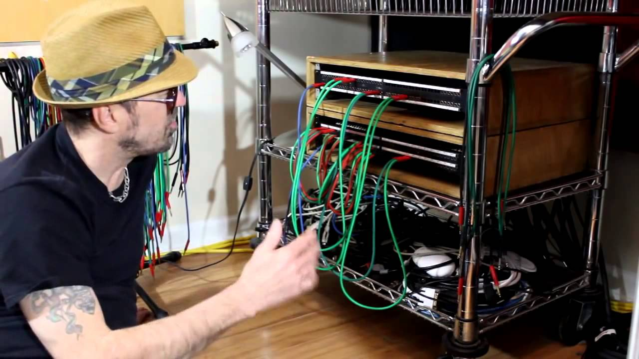 Tt Patchbay For The Home Recording Studio Youtube Wiring