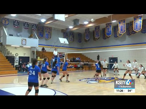 San Luis Obispo Classical Academy girls volleyball wins first CIF match