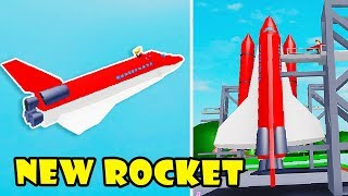New Update! I Bought Rocket Space Shuttle $20,000,000,000,000 | Ice Cream Van Simulator! [Roblox]