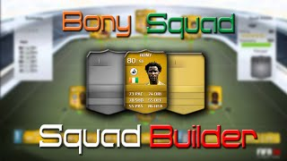 Fifa 14 - Squad Builder - Bony Hybrid Thumbnail