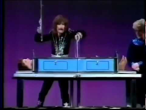Doug Henning on Night of 100 Stars double Sawing a Girl in Half