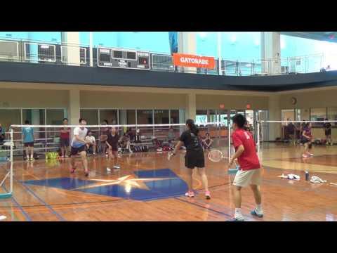 XD Choonggao Lee-Cindy Lee vs Xiaohui Liu-Jen Hu 2016 Puccini Texas Championship