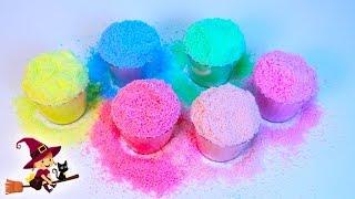 Insta Snow Coloreamos Nieve Mágica con 6 Colores