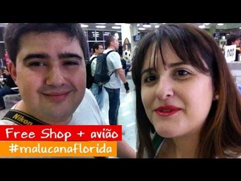 INDO PRA ORLANDO + Free Shop