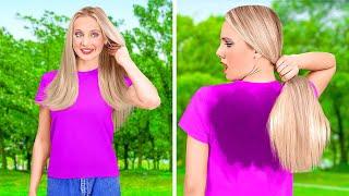 KIZLAR İÇİN HARİKA SAÇ TÜYO VE NUMARALARI || 123 GO! İle Havalı Saç Tüyoları ve