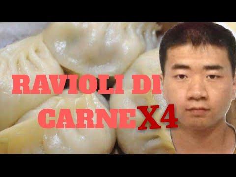 CUCINA CINESE:Ravioli cinese di CARNE