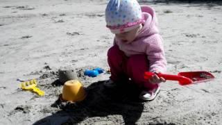 Ніка 1,6 р на пляжі в Трускавці півтора роки назад