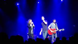 Lady Antebellum - Medley (DAWMH / Wanted You More / Hello World) [Clyde Auditorium, Glasgow]