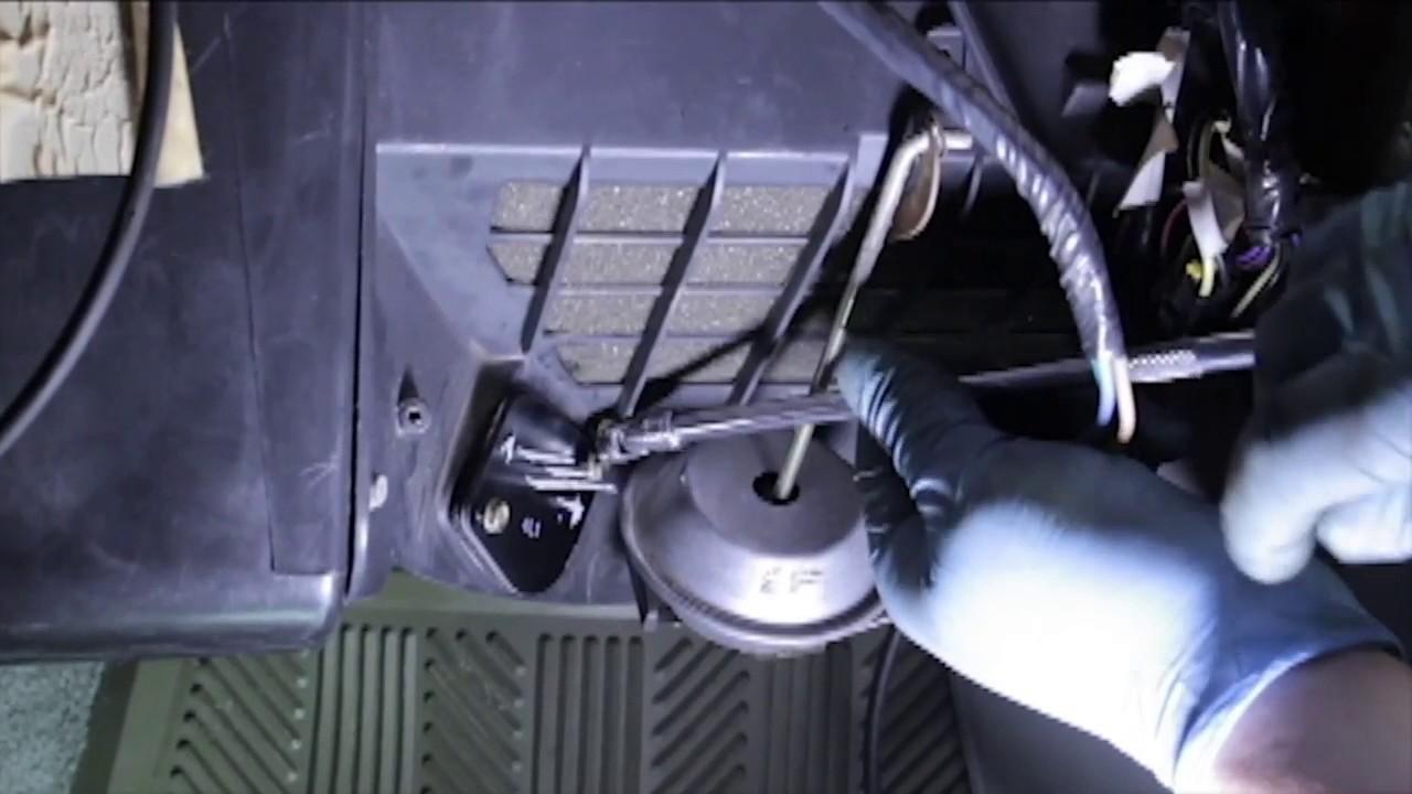 Jeep Cherokee Blower Motor Resistor Replacement Youtube