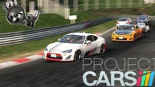 Video Project Cars - Scion FR-S contra 20 bots!!! G27 download MP3, 3GP, MP4, WEBM, AVI, FLV Juni 2018