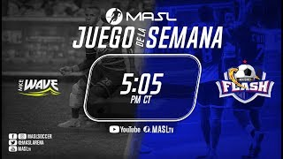 Monterrey Flash vs Milwaukee Wave (espanol)
