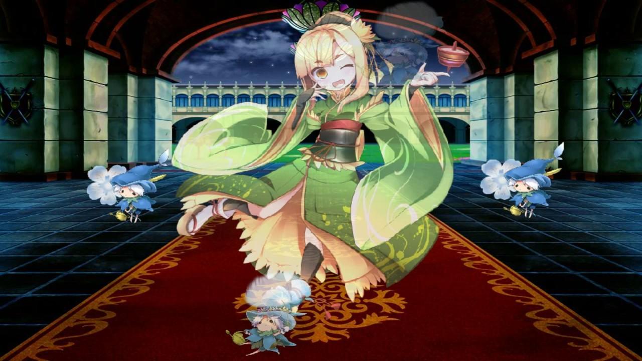 美少女花騎士:角色強化合成 - YouTube