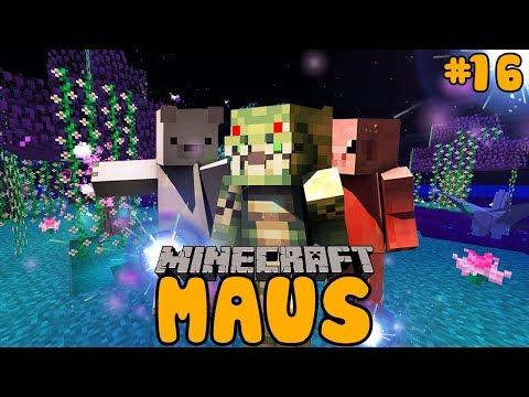 SIE VERFOLGEN UNS BIS ZUM...?! ✿ Minecraft MAUS #16