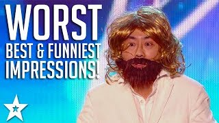 The Best, Worst and The Funniest Impressionists on Got Talent Global