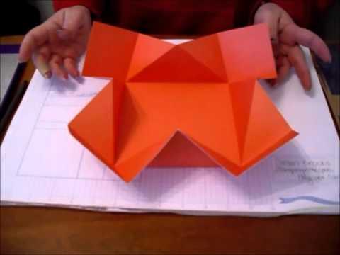 Napkin Fold Cardwmv Youtube