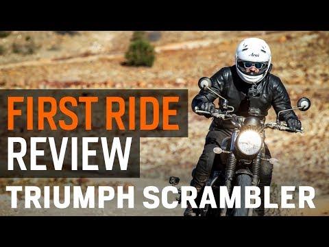 2017 Triumph Scrambler First Ride Review at RevZilla.com