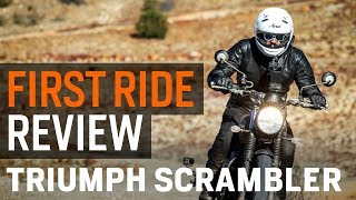 2017 Triumph Scrambler First Ride Review at RevZilla.com