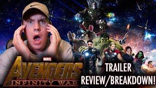Avengers: Infinity War D23 Trailer REVIEW!