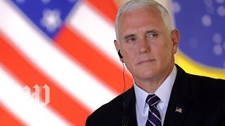 Baixar Pence and the head of DHS deliver remarks to ICE employees