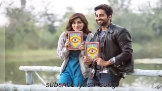 Nazm Nazm Lyrics full song Bareilly Ki Barfi Kriti Sanon, Ayushmann Khurra1502857636