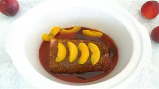 How To Make Slow Cooker Peach Pork