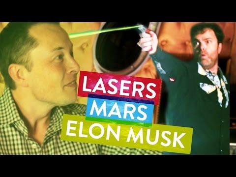 Elon Musk Captured by Rainn Wilson!  Metaphysical Milkshake