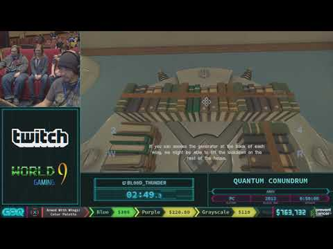 Quantum Conundrum by Blood_Thunder in 45:54 - AGDQ 2018 - Part 115