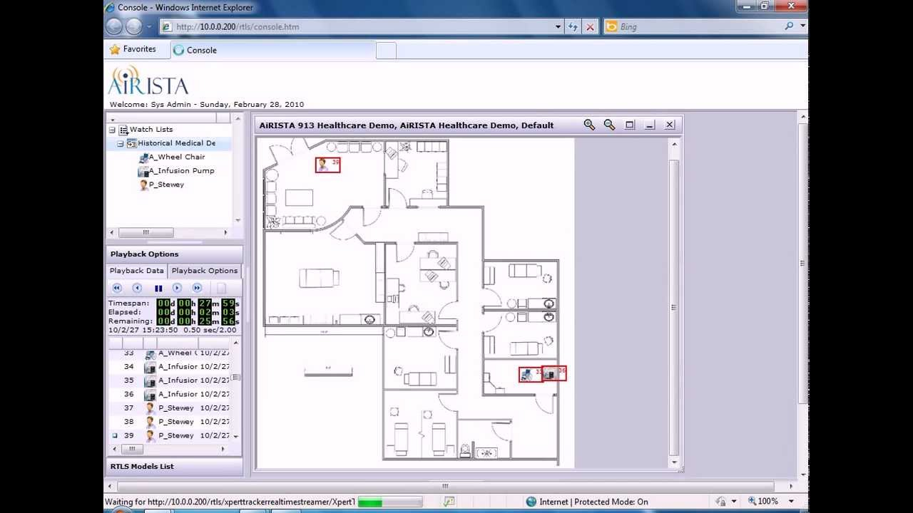 AiRISTA Unified Visibility Solution Console Demo Video
